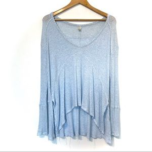 Free People Tops - Free People drippy sunset thermal waffle knit top